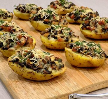 Ziemniaki czosnkowe z piekarnika