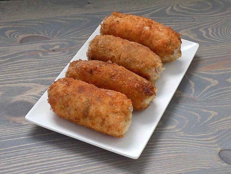 Roladki z piersi kurczaka - eskalopki