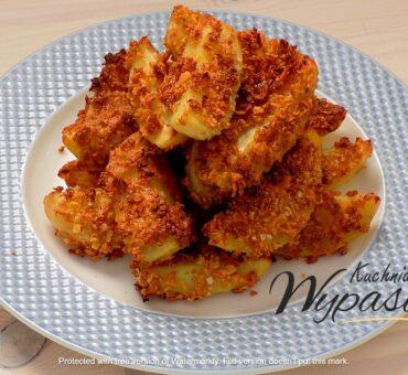 Ziemniaki panierowane z piekarnika