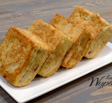 3 warstwowy tost z patelni