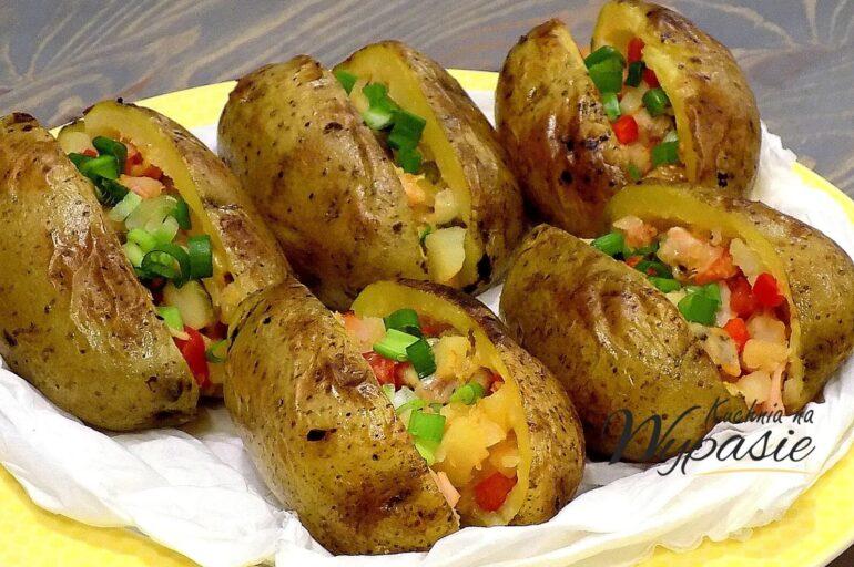 Faszerowane ziemniaki z piekarnika