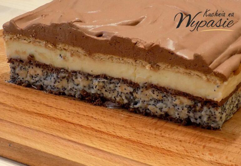 Pijak - ciasto bez pieczenia
