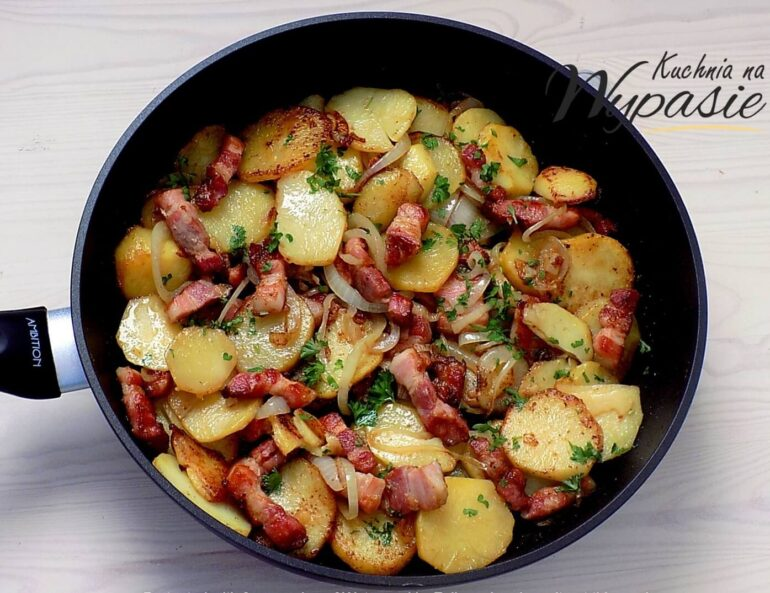 Kraszanka, czyli pyszne ziemniaki z patelni