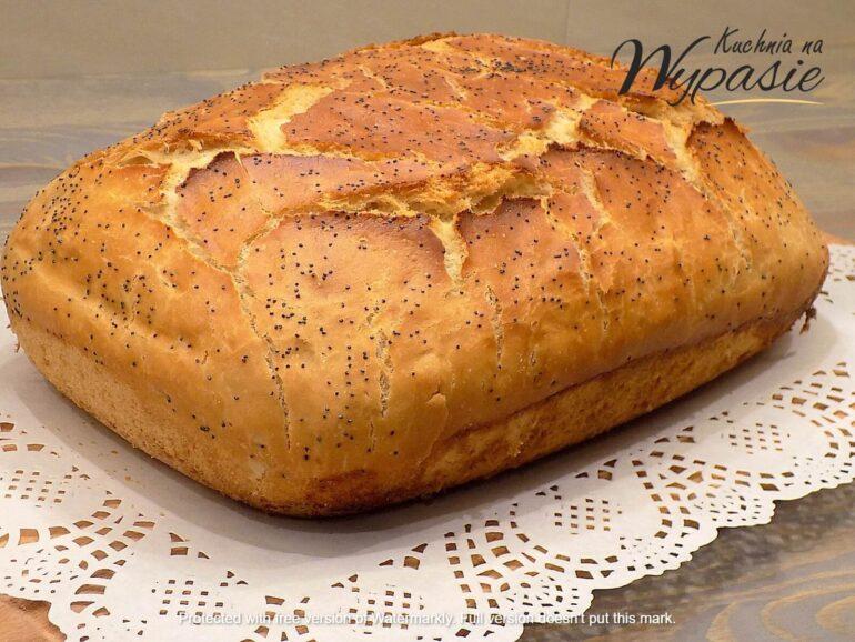 domowy chleb pszenno - żytni