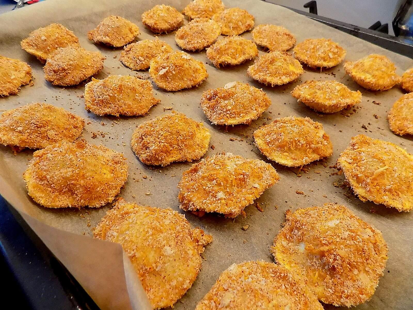 Chrupiące tortellini z serem