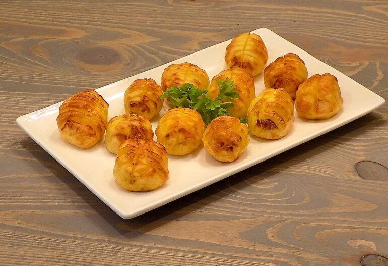 Pieczone ziemniaki z piekarnika