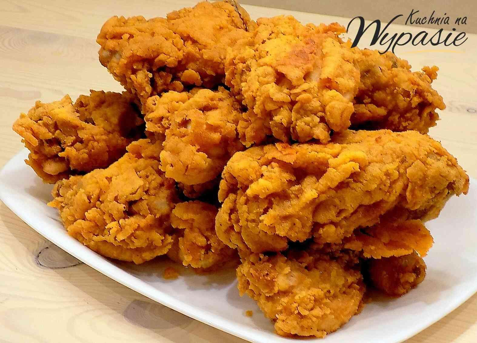 Kurczak jak z KFC - przepis na panierkę
