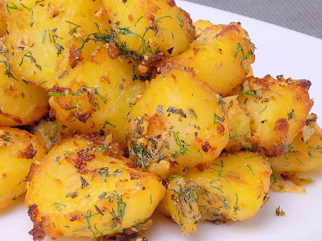 Pieczone ziemniaki - sprawdzony przepis