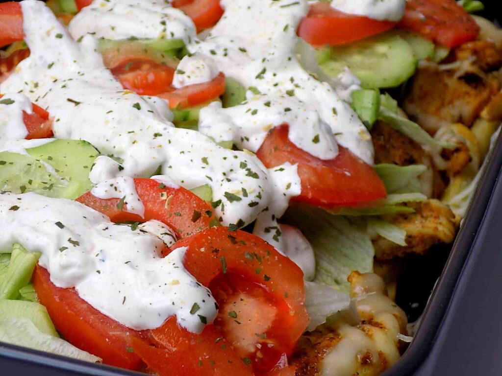Kapsalon - niderlandzki kebab