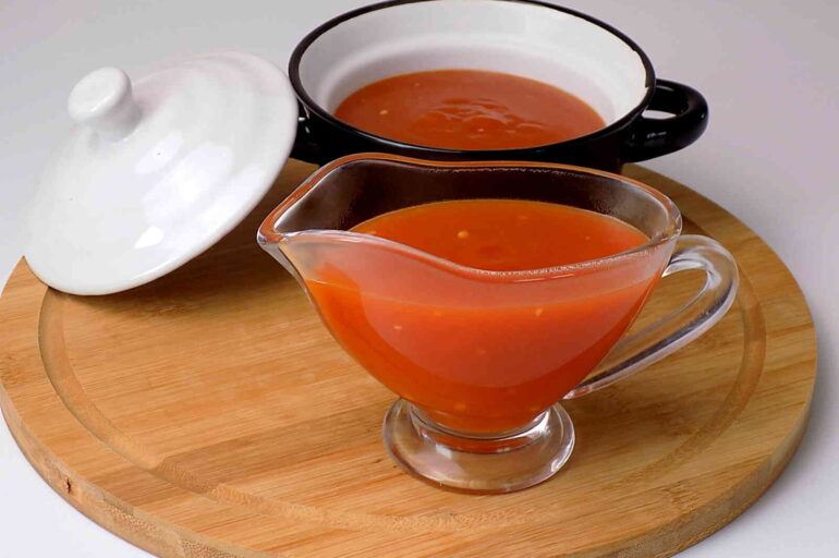 Domowy sos słodko – kwaśny