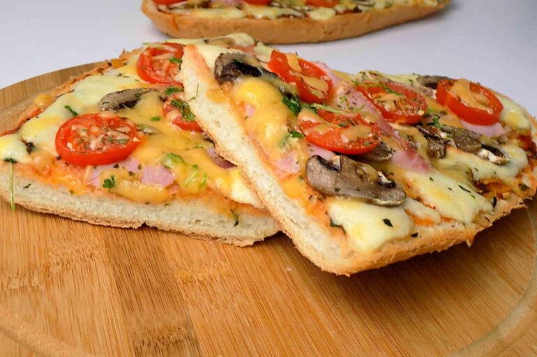 Szybkie zapiekanki a'la pizza
