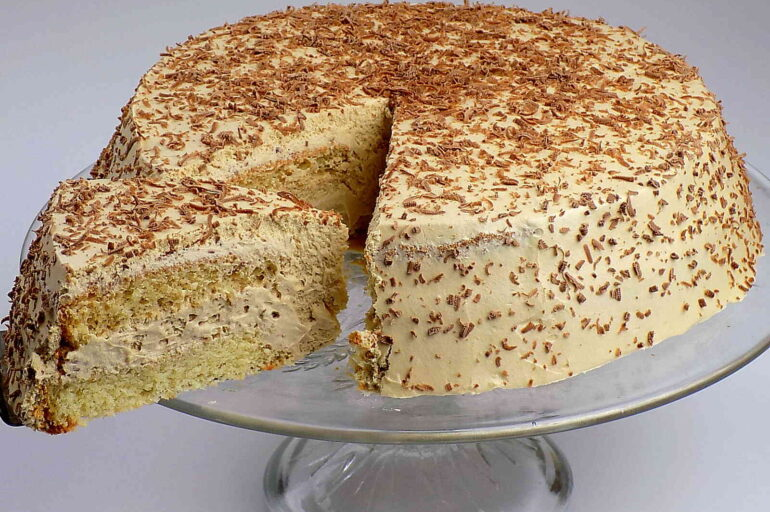 Ciasto cappuccino na biszkopcie