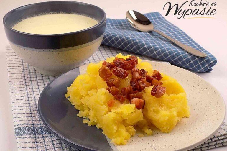 Biała polewka czyli pyszna zupa z maślanki