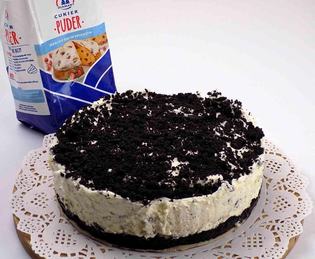 Ciasto straciatella bez pieczenia