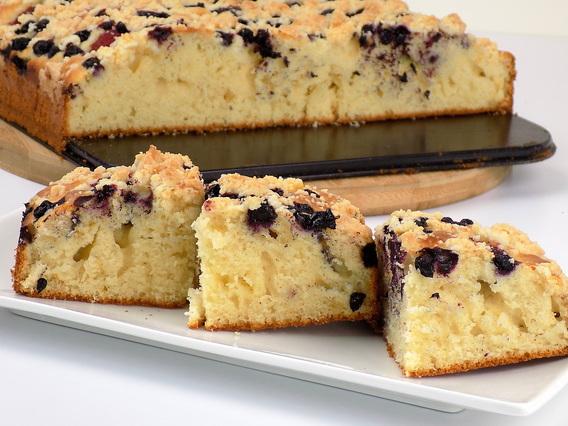 Ciasto widelcem mieszane z owocami