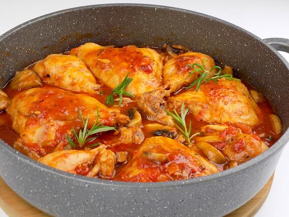 zdjęcie przedstawiające przepis na kurczak morengo z bloga kulinarnego kuchnia na wypasie